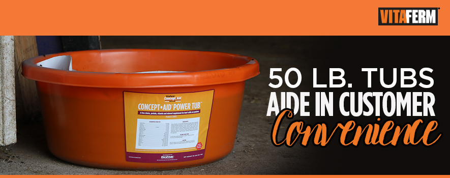 Cattle Protein Tub